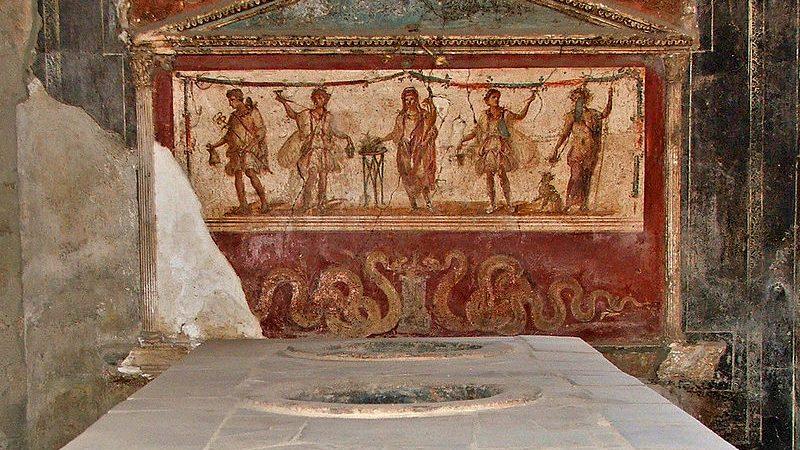 Štand brze hrane otkriven u Pompeji
