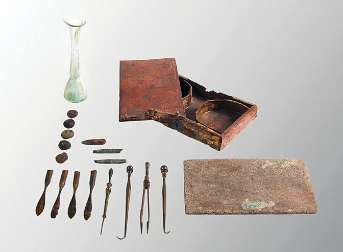 Farmacija u antička vremena-Viminacijum