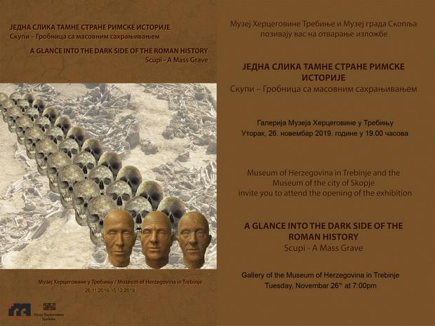PRIKAZ IZLOŽBE JEDNA SLIKA TAMNE STRANE RIMSKE ISTORIJE -Skupi:grobnica sa masovnim sahranjivanjem