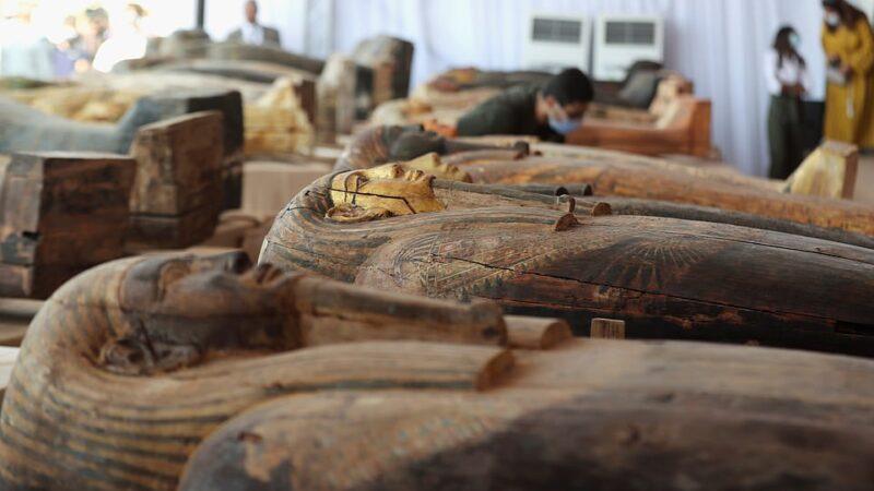Otkriće 59 SARKOFAGA u Egiptu