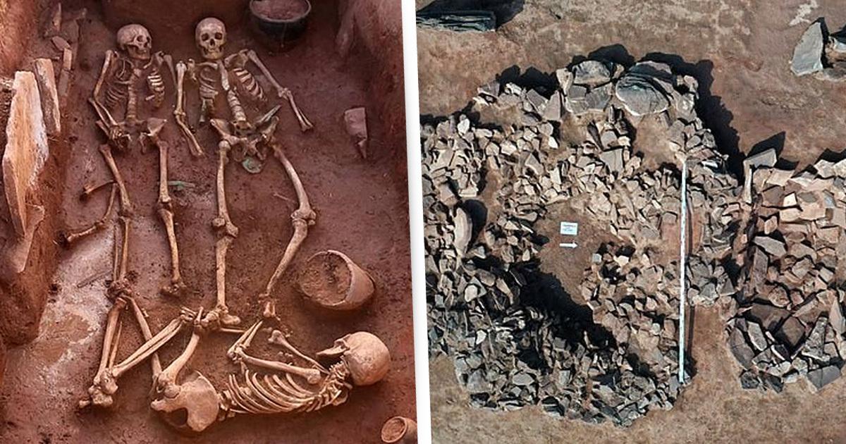 Grob ratničkog para star 2,500 godina otkriven je u Sibiru