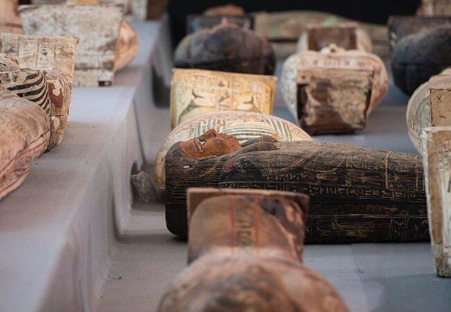 Egipatski arheolozi su otkrili 100 sarkofaga!