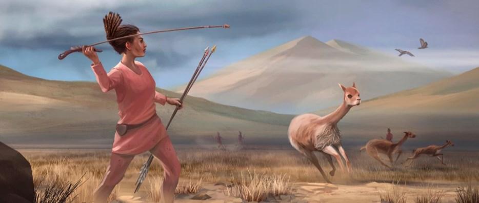 Lovom na krupnu divljač bavile su se i drevne žene