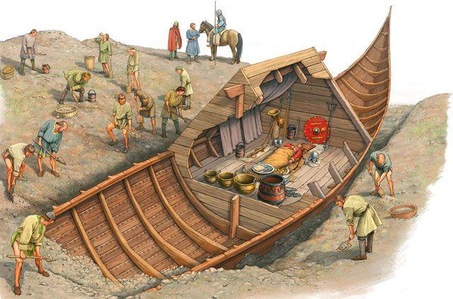 Misterija sahrane broda Sutton Hoo