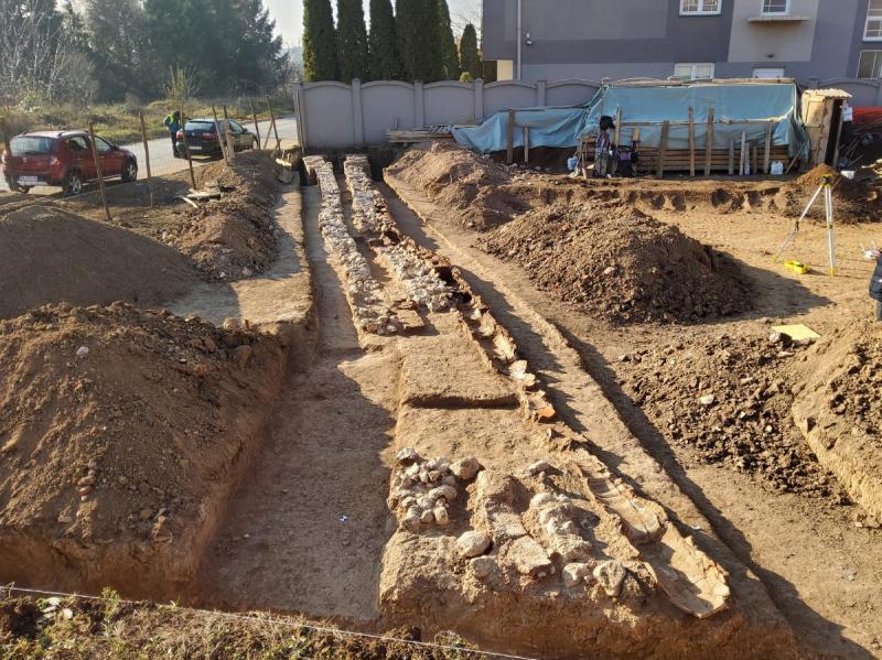 Otkriće rimskog vodovoda na gradilištu u Nišu