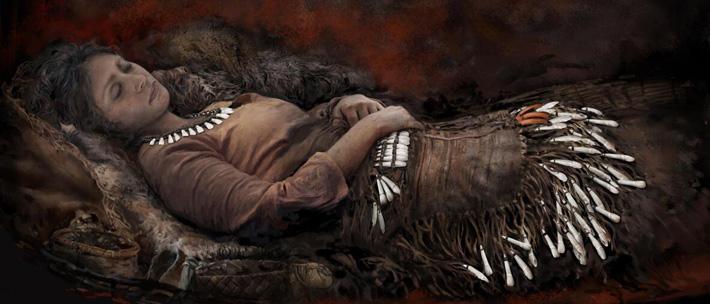Zubi losa pružaju dokaze za praistorijsku odeću u Rusiji